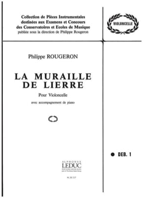 La muraille de lierre Philippe Rougeron Partition laflutedepan