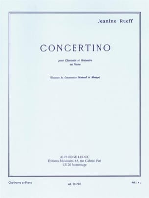 Jeanine Rueff - Concertino op. 15 - Sheet Music - di-arezzo.co.uk