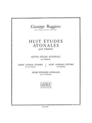 8 Etudes Atonales - Giuseppe Ruggiero - Partition - laflutedepan.com