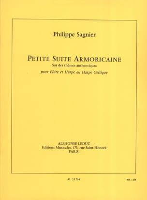 Philippe Sagnier - Petite Suite Armoricaine - Flûte et Harpe - Partition - di-arezzo.fr