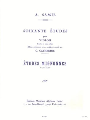 A. Samie - 60 Studies Volume 1 - Cute Studies - Sheet Music - di-arezzo.co.uk
