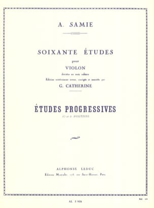 A. Samie - 60 Etudes Volume 2 - Etudes Progressives - Partition - di-arezzo.fr