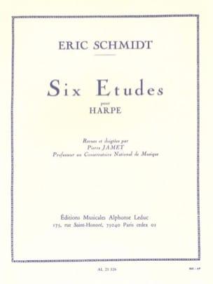 Eric Schmidt - 6 estudios - Partitura - di-arezzo.es