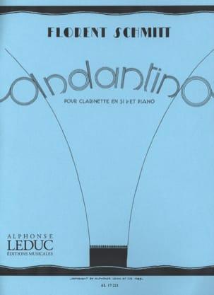 Andantino - Florent Schmitt - Partition - laflutedepan.com