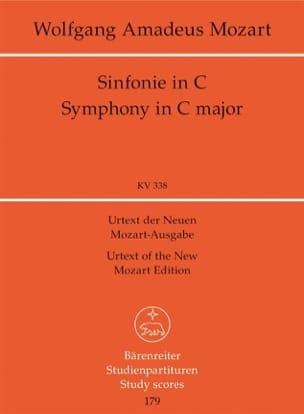 Wolfgang Amadeus Mozart - Symphonie Nr. 34 C-dur KV 338 – Partitur - Partition - di-arezzo.fr
