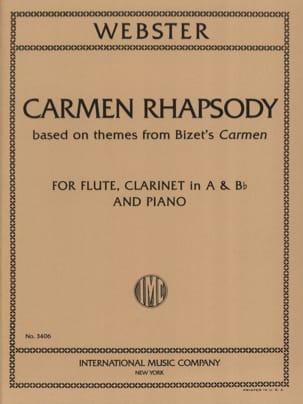 Carmen Rhapsody Michael Webster Partition Trios - laflutedepan