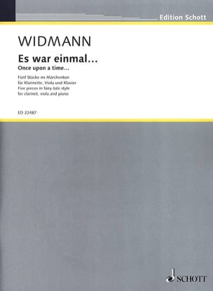 Jörg Widmann - Es war einmal ... - Sheet Music - di-arezzo.com