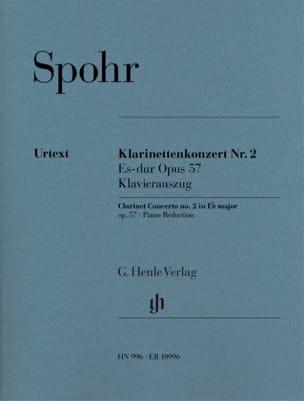 Concerto pour Clarinette n° 2, op. 57 - SPOHR - laflutedepan.com