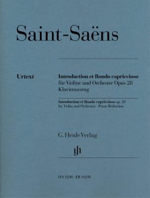 Introduction et Rondo Capriccioso SAINT-SAËNS Partition laflutedepan