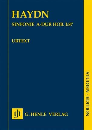 Symphonie n° 87 en La Majeur Joseph Haydn Partition laflutedepan