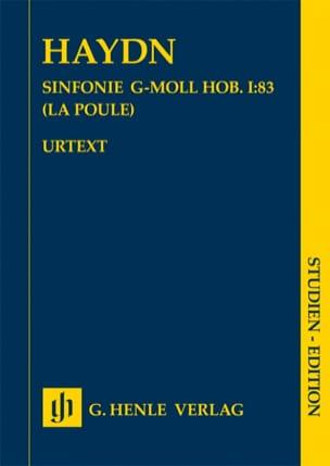 Symphonie n° 83 La Poule Joseph Haydn Partition laflutedepan