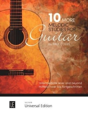 Paul Coles - 10 More Melodic Studies - Sheet Music - di-arezzo.co.uk