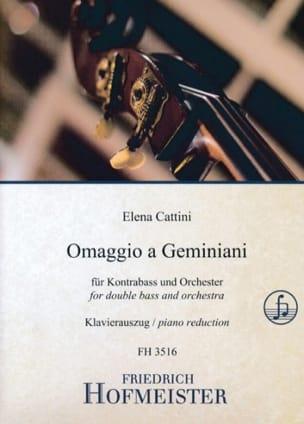 Omaggio a Geminiani - Elena Cattini - Partition - laflutedepan.com