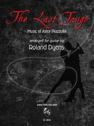 The Last Tango - Guitare Astor Piazzolla Partition laflutedepan