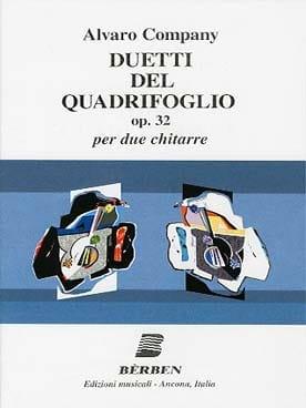 Duetti del Quadrifoglio - 2 Guitares Alvaro Company laflutedepan