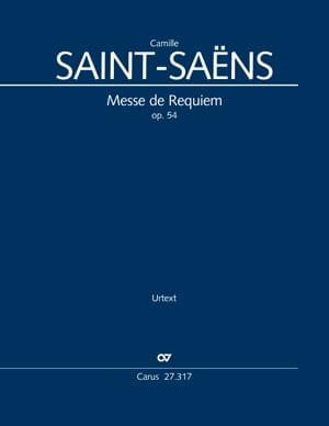Messe de Requiem, op. 54 - Camille Saint-Saëns - laflutedepan.com