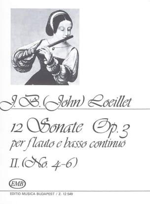 Sonates op. 3 - Vol. 2 laflutedepan