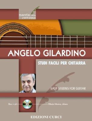 Etudes Faciles - Guitare - Angelo Gilardino - laflutedepan.com