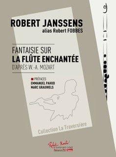 Robert Janssens - Fantasy on The Magic Flute - Flute and Piano - Sheet Music - di-arezzo.com