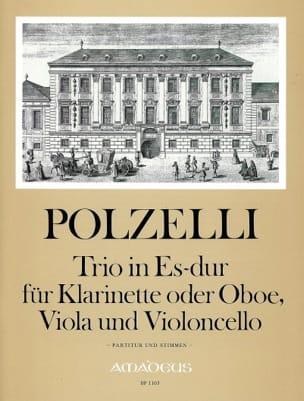 Trio en Mib Majeur - Anton Polzelli - Partition - laflutedepan.com