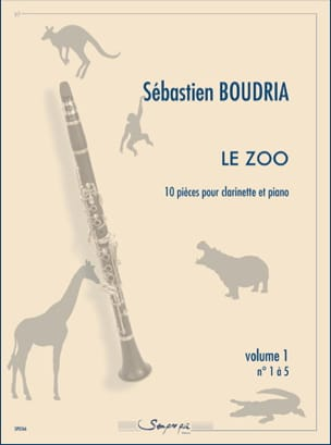 Sébastien Boudria - The Zoo - Volume 1 - Sheet Music - di-arezzo.com