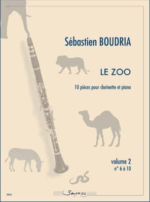 Sébastien Boudria - The Zoo - Volume 2 - Sheet Music - di-arezzo.co.uk