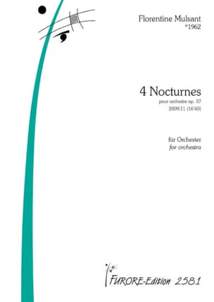 4 Nocturnes op. 37 Florentine Mulsant Partition laflutedepan