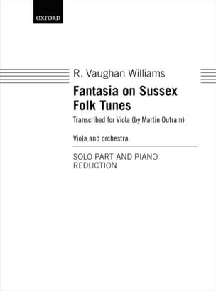 Williams Ralph Vaughan - Fantasia on Sussex Folk Tunes - Sheet Music - di-arezzo.com
