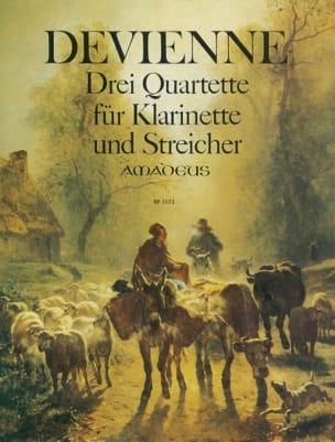 3 Quatuors, op. 73 DEVIENNE Partition Quatuors - laflutedepan