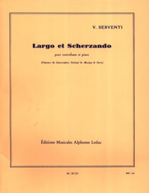 Victor Serventi - Largo and Scherzando - Sheet Music - di-arezzo.com