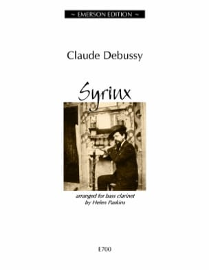 Syrinx - Clarinette Basse DEBUSSY Partition Clarinette - laflutedepan