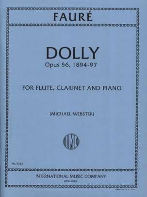 Dolly, opus 56 FAURÉ Partition Trios - laflutedepan