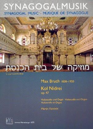 Max Bruch - Kol Nidrei - Violoncelle et Orgue - Partition - di-arezzo.fr