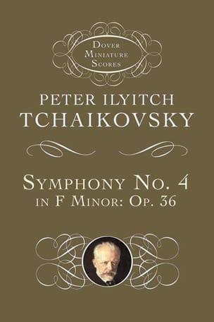Symphonie n° 4 - Conducteur Piotr Illitch Tchaikovsky laflutedepan