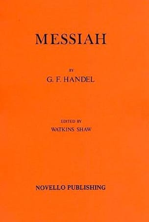 Georg Friedrich Haendel - The Messiah - Driver - Sheet Music - di-arezzo.com