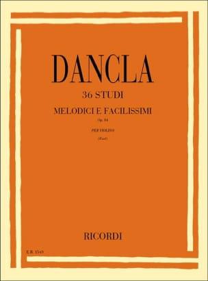 DANCLA - 36 estudios - violín - Partitura - di-arezzo.es