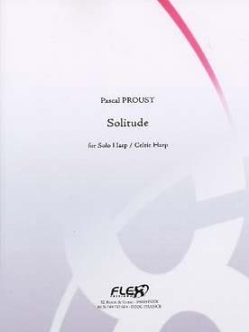 Solitude Pascal Proust Partition Harpe - laflutedepan