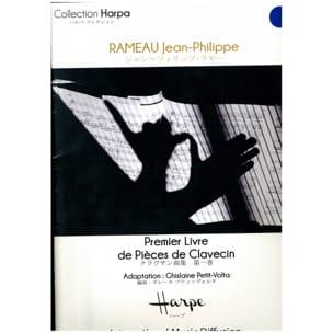 PREMIER LIVRE DE PIECES DE CLAVECIN - RAMEAU - laflutedepan.com