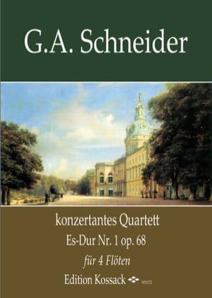 Quatuor Concertant, op. 68 n° 1 - laflutedepan.com
