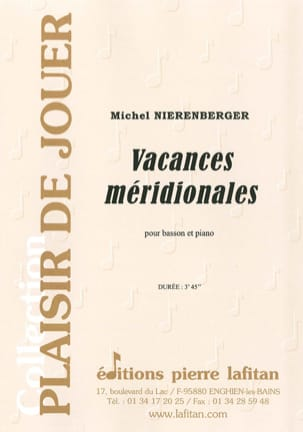 Michel Nierenberger - Southern vacation - Sheet Music - di-arezzo.com