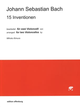 Johann Sebastian Bach - 15 Inventions for two cellos - Sheet Music - di-arezzo.com