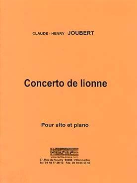 Concerto de Lionne - Claude-Henry Joubert - laflutedepan.com