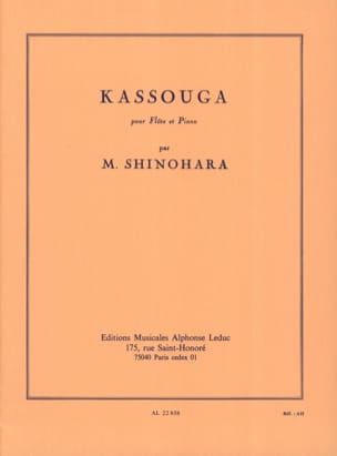 Makoto Shinohara - Kassouga - Sheet Music - di-arezzo.co.uk