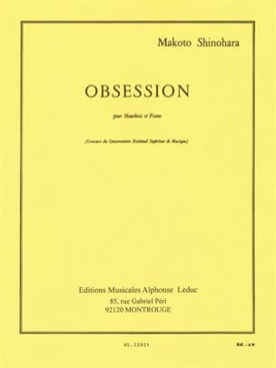 Makoto Shinohara - Obsession - Sheet Music - di-arezzo.co.uk