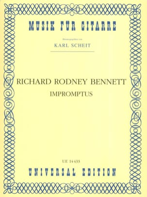 Richard Rodney Bennett - Impromptus - Partition - di-arezzo.fr