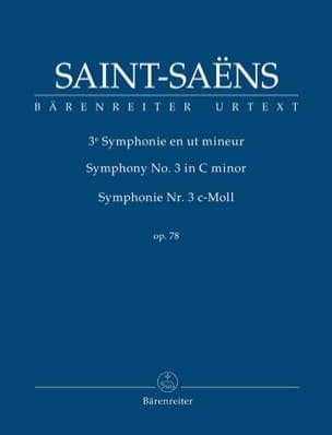 Camille Saint-Saëns - Symphony No. 3, opus 78 - Sheet Music - di-arezzo.co.uk