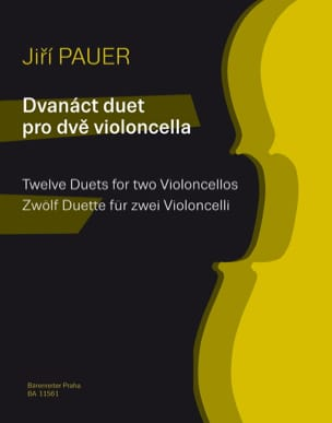 Jiri Pauer - 12 Duos - Partition - di-arezzo.fr