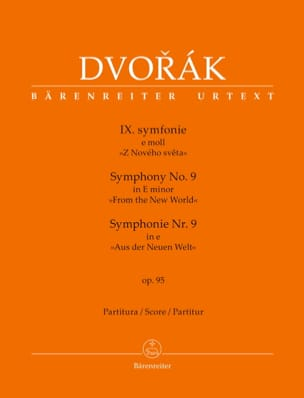DVORAK - New World Symphony - Sheet Music - di-arezzo.co.uk