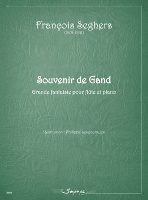 François Seghers - Souvenir of Ghent - Sheet Music - di-arezzo.com