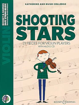 Katherine & Hugue Colledge - Shooting Stars - CD violín - Partition - di-arezzo.es